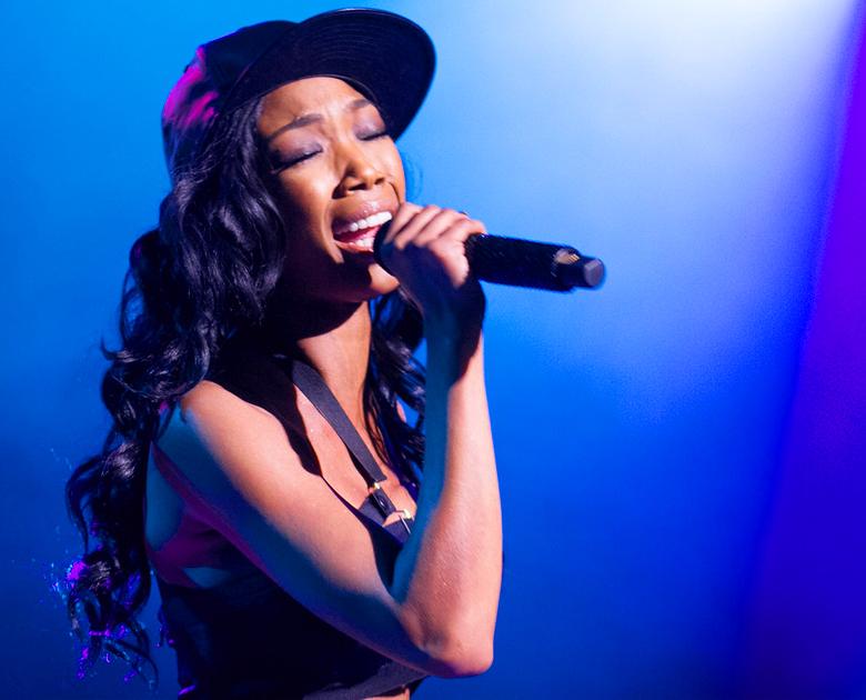 Brandy LIVE in Concert